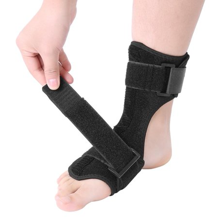 HERCHR Ankle Joint Support, Foot Drop Splint Orthotics Fracture Sprain Injury Support Wrap Ankle Brace, Foot Drop Brace, Foot Drop Corrector Ankle Fracture Boot