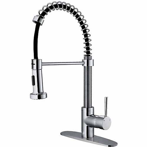 Double Handle Kitchen Faucet · Sprays And Hoses