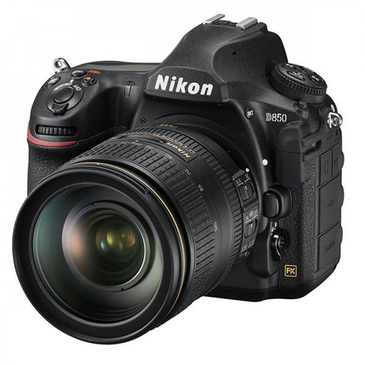 Nikon D850 DSLR Body Only + Nikon AF-S NIKKOR 24-120mm f/4G ED...