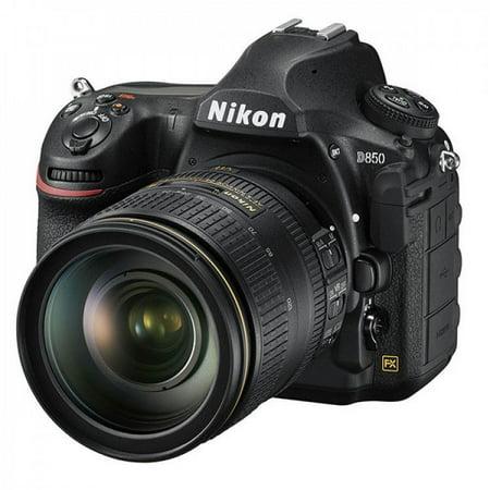 Nikon D850 DSLR Body Only + Nikon AF-S NIKKOR 24-120mm f/4G ED VR Lens