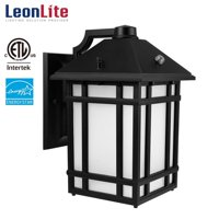 LEONLITE 14W LED Outdoor Security Light, Waterproof Wall Lights, Wall Lantern Light Fixture, Outdoor Lighting with Photocell