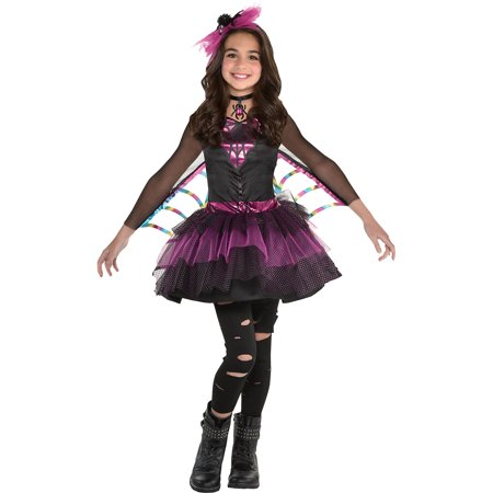 Miss Wicked Web Spider Costume for Girls, Size Small, Includes Dress and More
