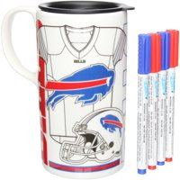 Buffalo Bills Just Add Color Tall Boy Mug - No Size