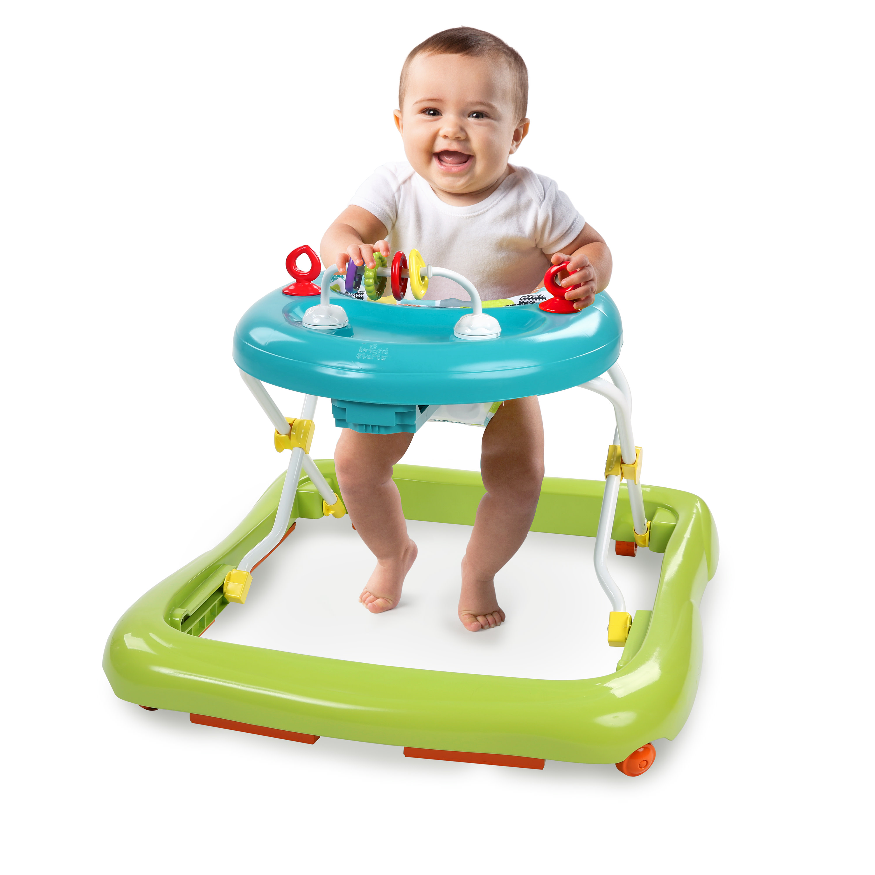 Durable Plastic Kids II Bright Starts Easy To Clean Baby Lots Of Links Strong