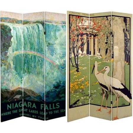 6' Tall Double Sided Niagara Falls Room Divider](Halloween Niagara)