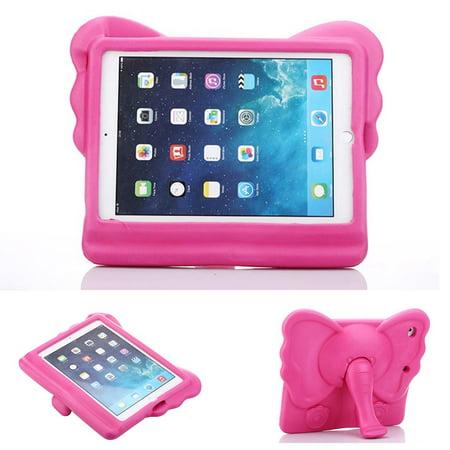 Allytech Cute Elephant Kids Friendly Case for Apple iPad 9.7 2018/2017, iPad Air 1 2, iPad Pro 9.7