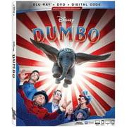 Dumbo (Live Action) (Blu-ray + DVD + Digital)