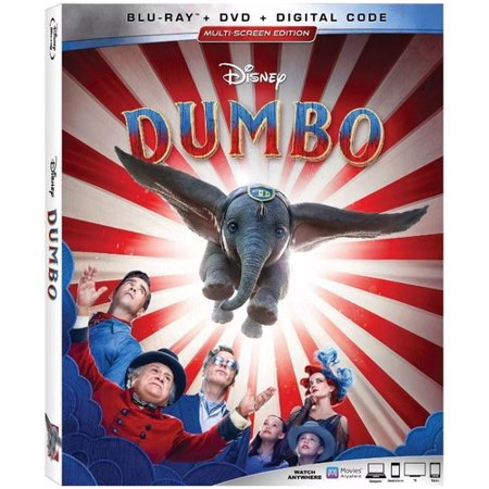 Live Halloween Show (Dumbo (Live Action) (Blu-ray + DVD +)
