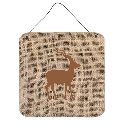 East Urban Home 'Deer' Metal Graphic Art Plaque in Brown