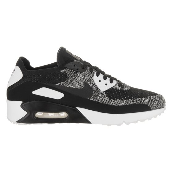 2ab25556d3123 Nike - Mens Nike Air Max 90 Ultra 2.0 Flyknit Black White 875943-001 ...