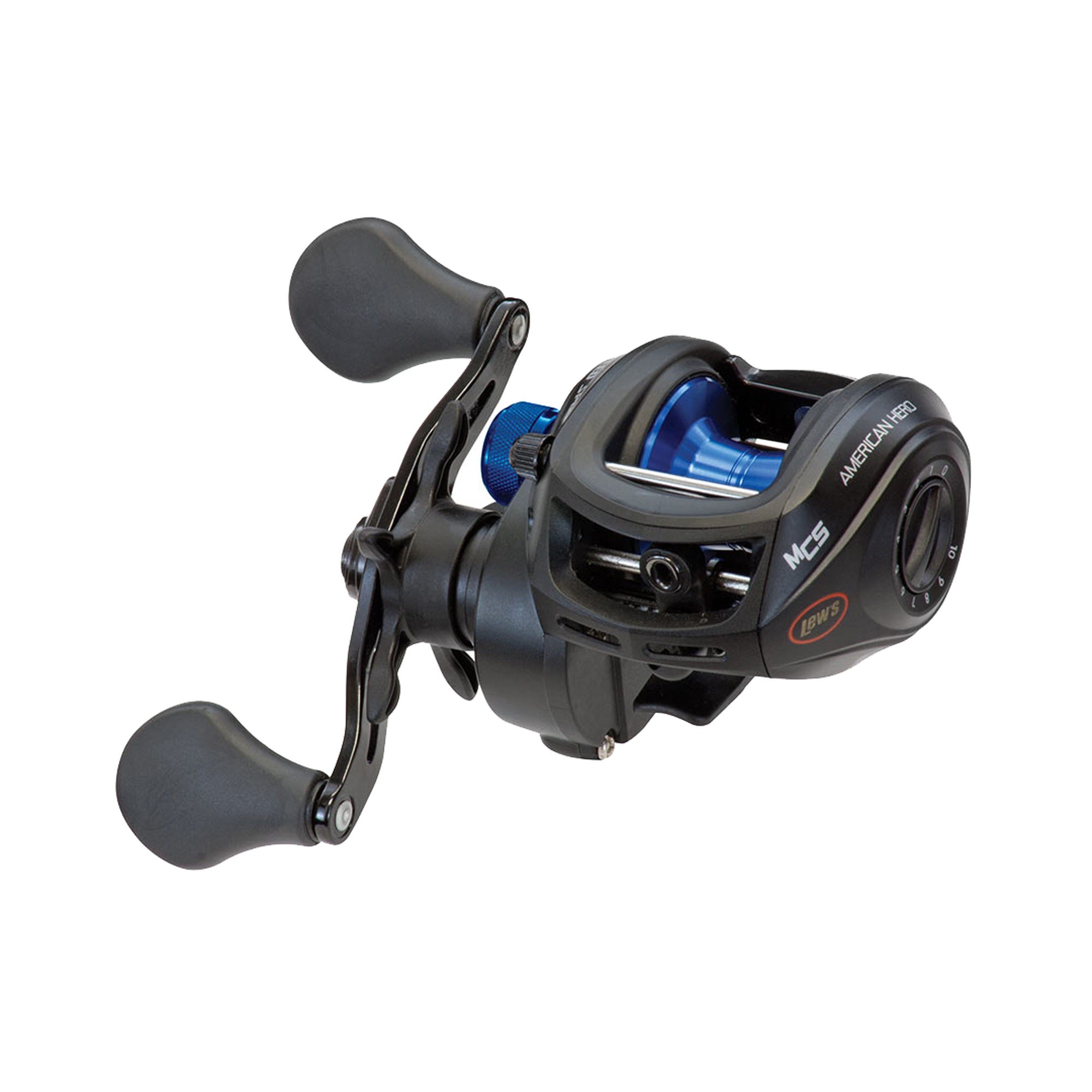 Lews Fishing AH1H, American Heroes Speed Spool Baitcast Reel Box