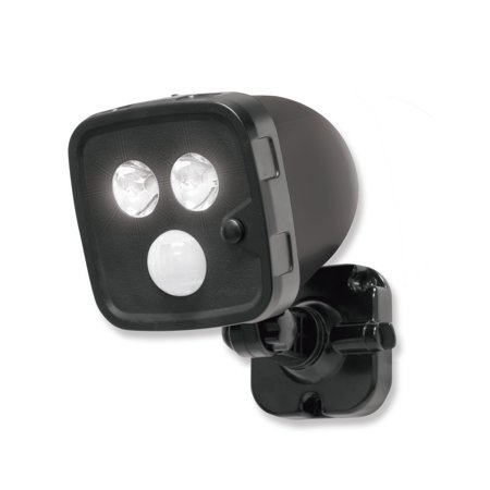 Energizer Motion-Activated Wireless Outdoor LED Spotlight, Battery Operated, (Best Battery Operated Motion Sensor Outdoor Light)