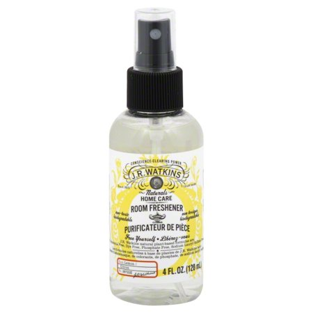 J.R. Watkins Room Freshener, Lemon, 4.0 fl. (Room Freshener Lemon)