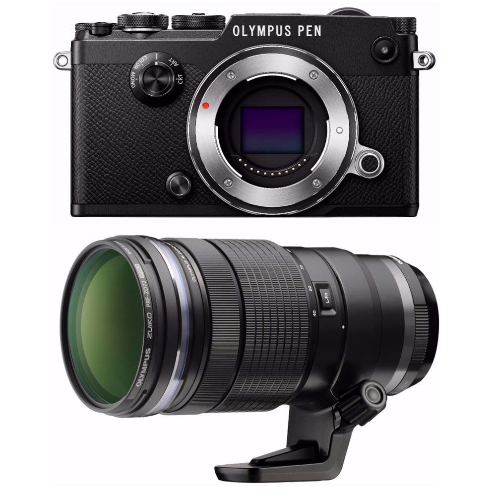Olympus PEN-F 20MP Mirrorless Digital Camera w/ ED 40-150mm