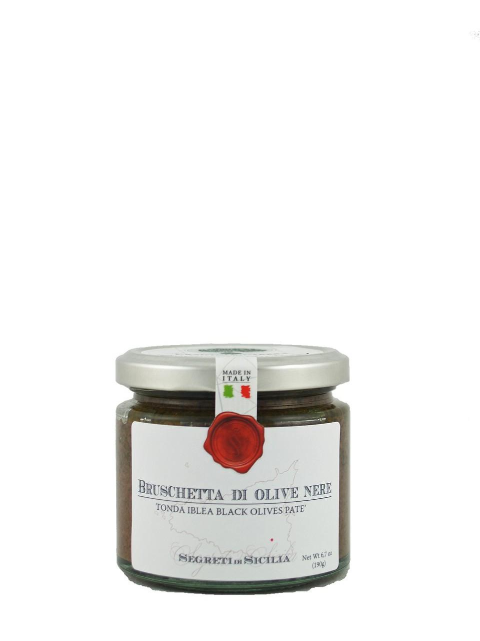 Frantoi Cutrera Tonda Iblea Black Olive Pate by Frantoi Cutrera