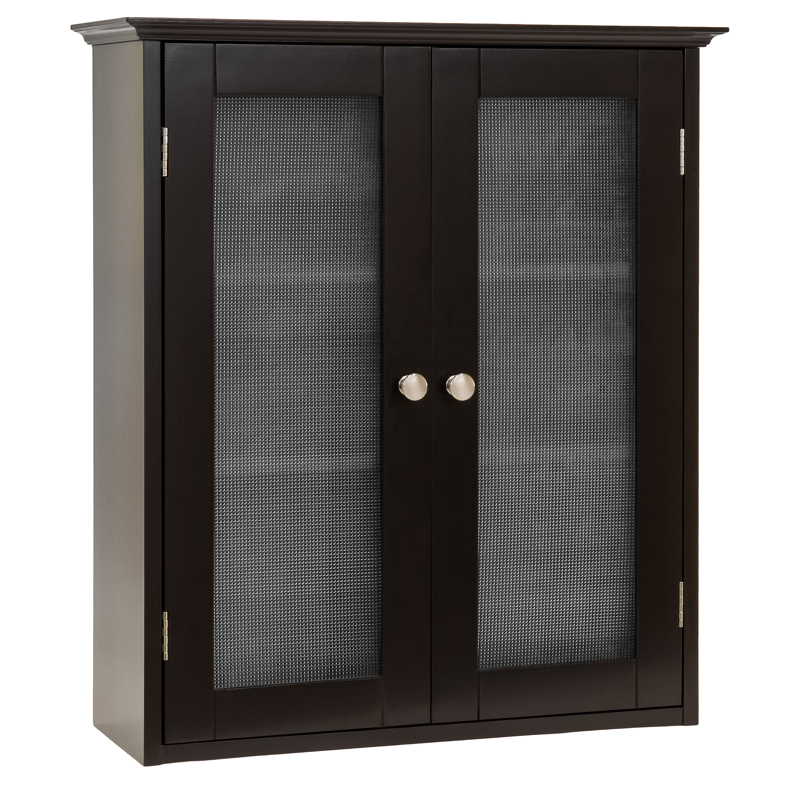 Best Choice Products Bathroom Wall Storage Organization Medicine Cabinet W/  Tempered Glass Double Doors
