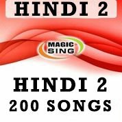 Magic Sing Hindi 2 Song Chip 200 Songs for Et28kh