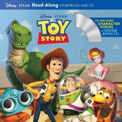 Toy Story Read-Along Storybook and CD - Halloween Read Along Stories