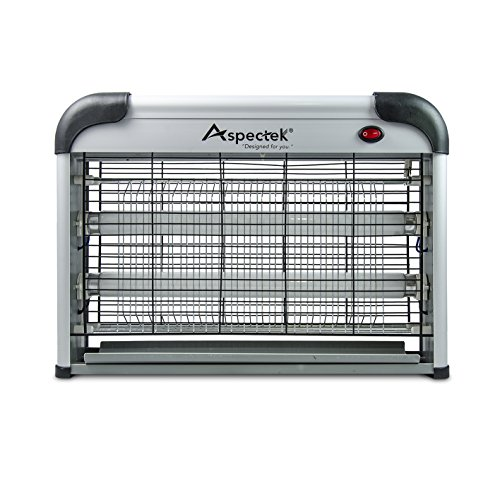 Aspectek 20W Electronic Bug Zapper Insect, Fly, Mosquito Killer and Zaps Other Insects Attracted by UV Light by