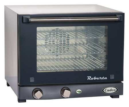 CADCO OV-003 Convection Oven, 3 Shelves, Quarter Size by Cadco
