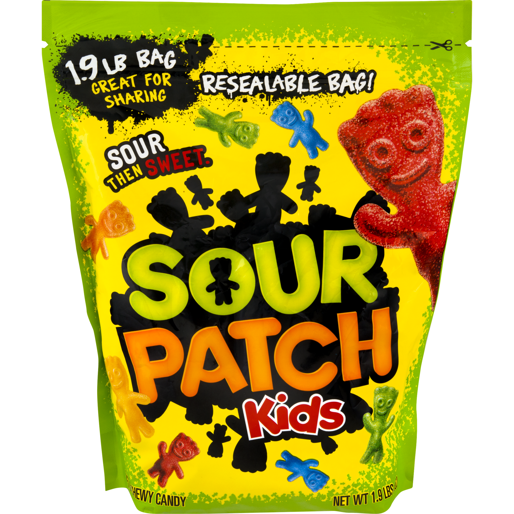 Sour Patch Kids, Soft and Chewy Candy, 1.9 Lb