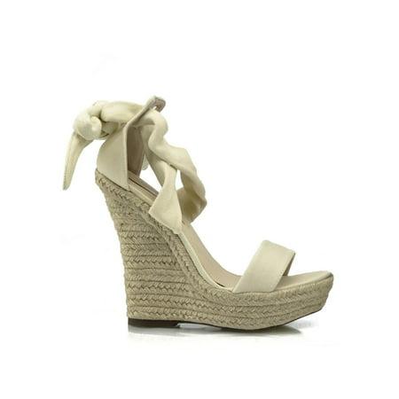 81472c012b55 Women Wedges 5 Platform Heel W Ankle Tie From Veesbest On. Katie Ankle Tie  Wedges
