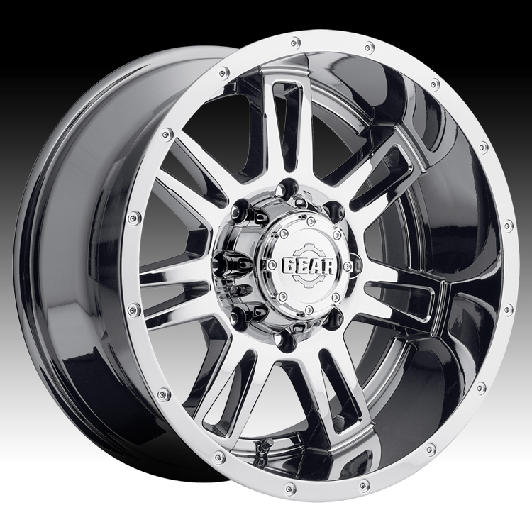 Gear Alloy 737V Challenger Chrome PVD 20x9 8x6.5 0mm (737...