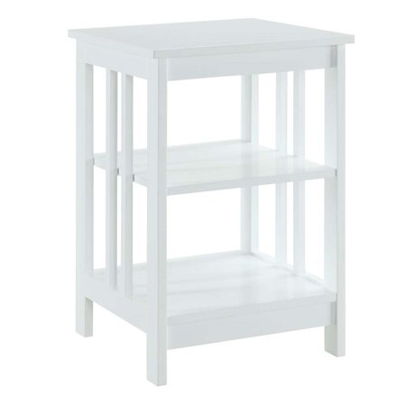 Pemberly Row End Table in White - image 1 de 3