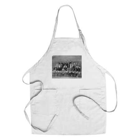 Brooklyn Dodgers Photo - Brooklyn Dodgers at Spring Training, Baseball Photo (Cotton/Polyester Chef's Apron)