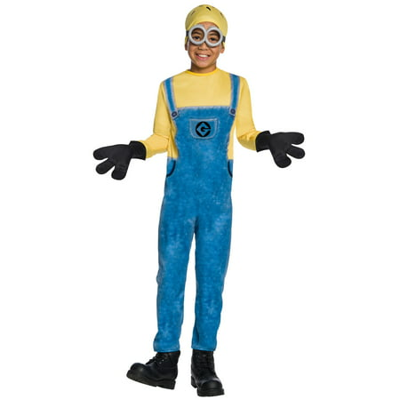 Boys Minion Jerry Costume](Minion Costume Halloween Spirit)