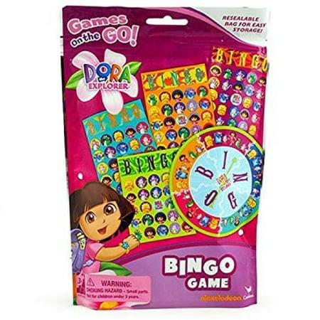 Dora The Explorer Bingo Game Resealable