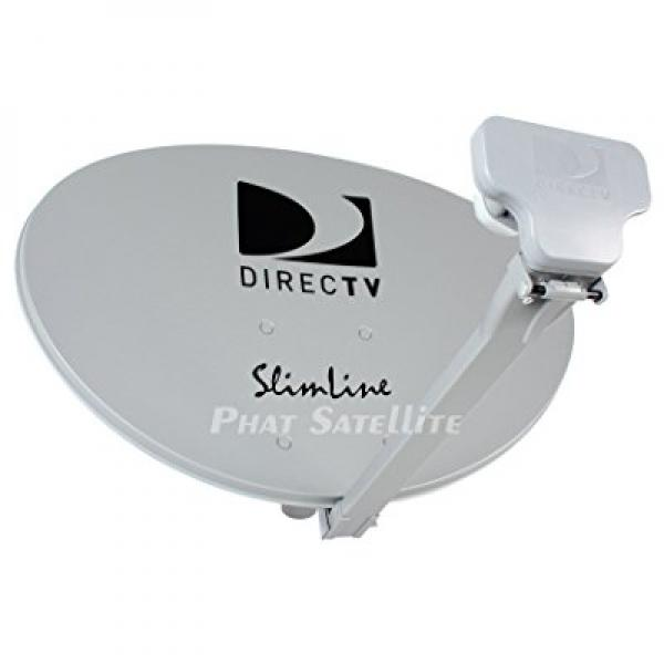 DIRECTV AU9-SL3-SWM Three LNB Ka Ku Slim Line Dish Antenna SL-3 LNB Combo by DirecTV