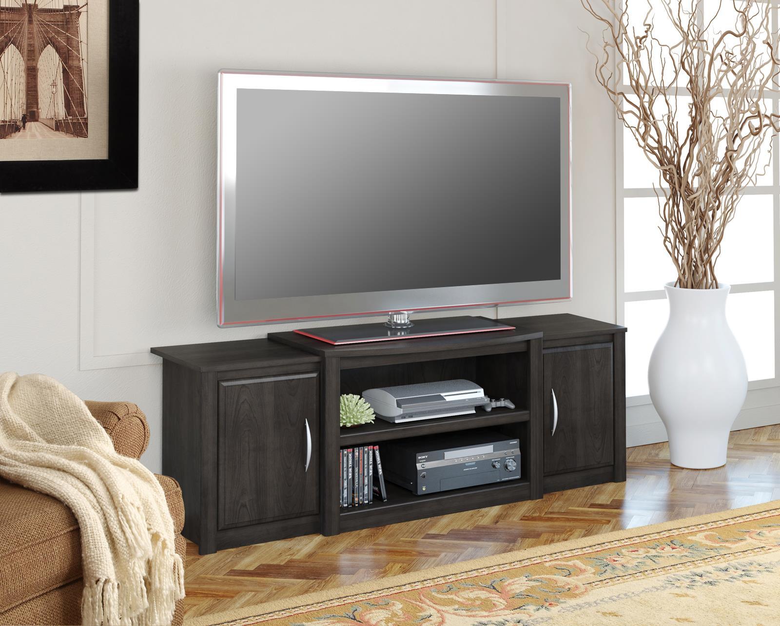 Sumner Dark Russet Cherry Tv Stand For Tvs Up To 60 Walmart Com Walmart Com