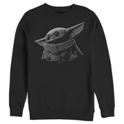 Star Wars The Mandalorian Men's The Child Shadow Sweatshirt