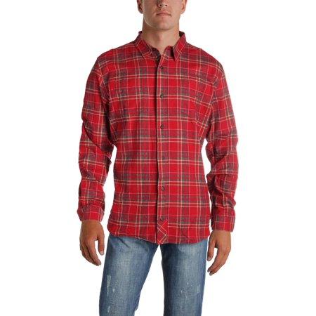 Toad & Co. Mens Flannagan Flannel Plaid Button-Down Shirt