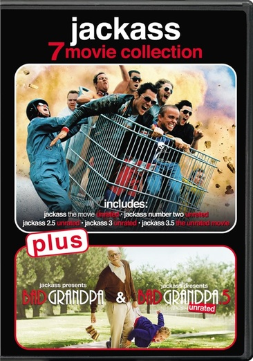 Jackass 7-Movie Collection (DVD) by PARAMOUNT STUDIO