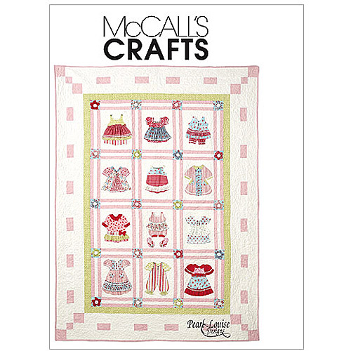 McCall's Dimensional Quilt, 1 Size Only