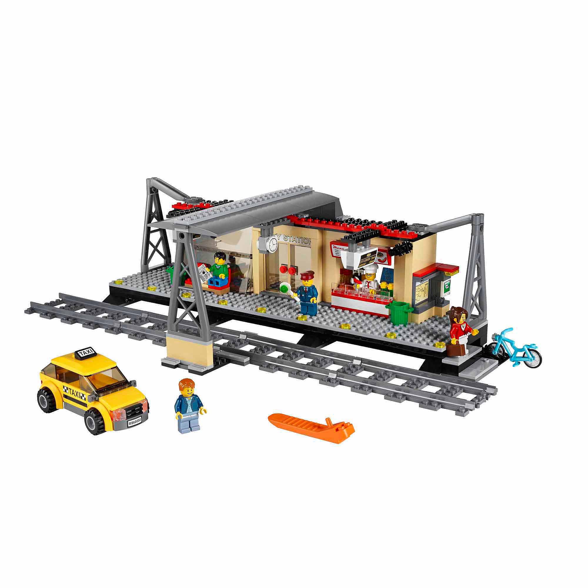 LEGO City Trains Train Station