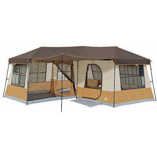 Ozark Trail 12-Person 3-Room Cabin Tent