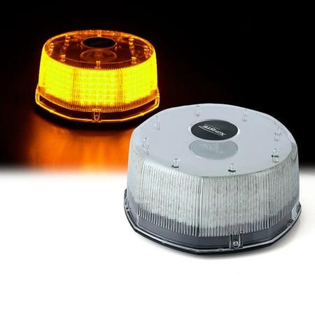 Xprite Amber Sun Beam Series 240 LED High Intensity Strobe and Rotating Light - Amber Strobe