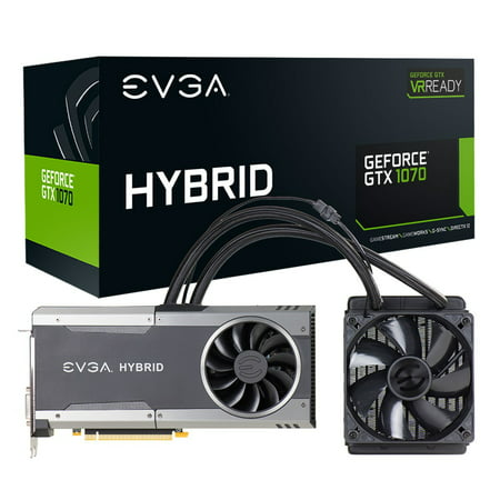 EVGA GeForce GTX 1070 Graphic Card - 1.61 GHz Core - 1.80 GHz Boost Clock - 8 GB GDDR5 - PCI Express 3.0 x16 - Dual Slot Space Required - 256 bit Bus Width - SLI - Fan Cooler - OpenGL 4.5, DirectX 12