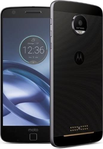 Motorola Moto Z Droid Edition XT1650-01 Lunar Grey 32GB Factory Unlocked 4G LTE GSM Smartphone (Certified Refurbished) by MOTOROLA