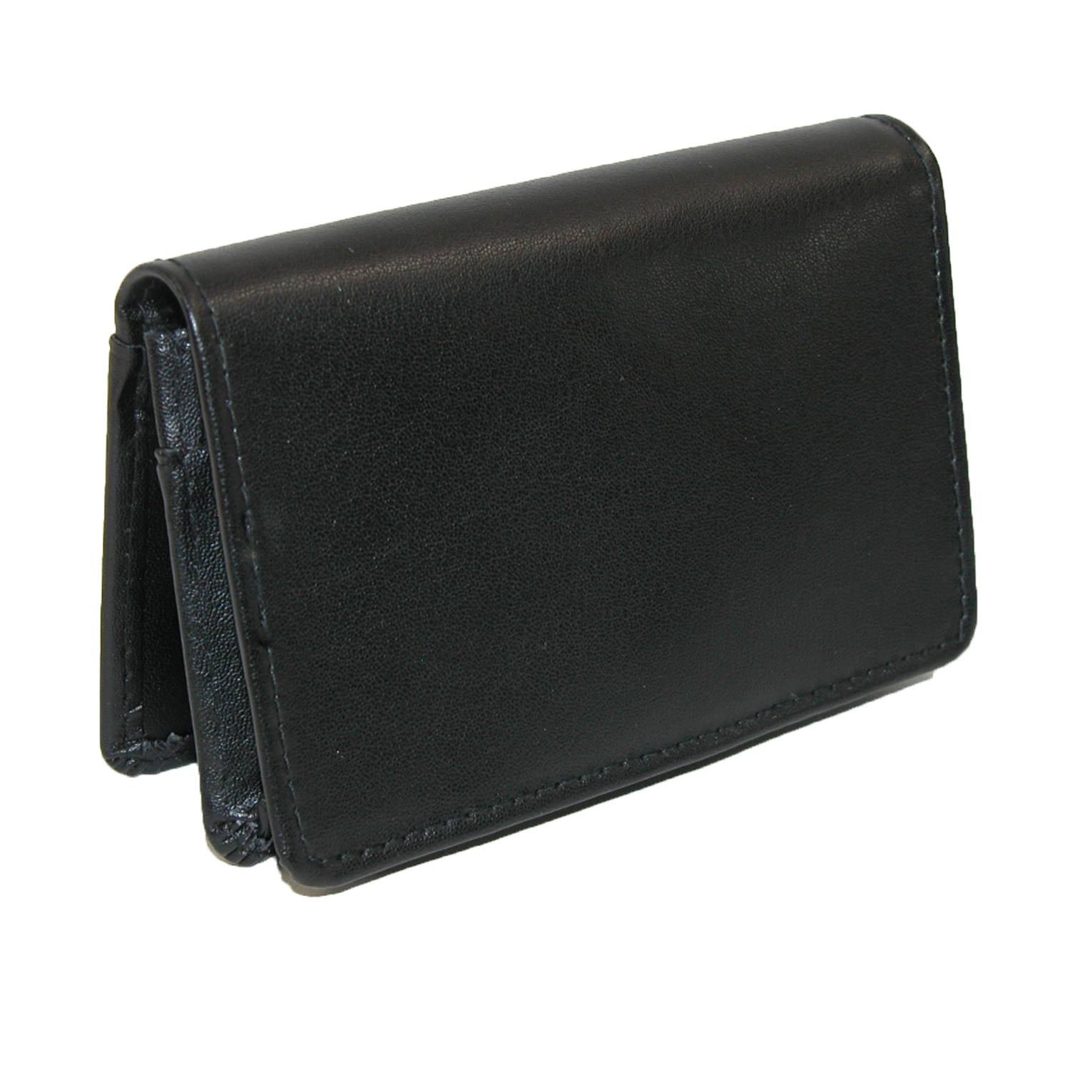 Buxton Leather Business Card Holder with ID Window - Walmart.com