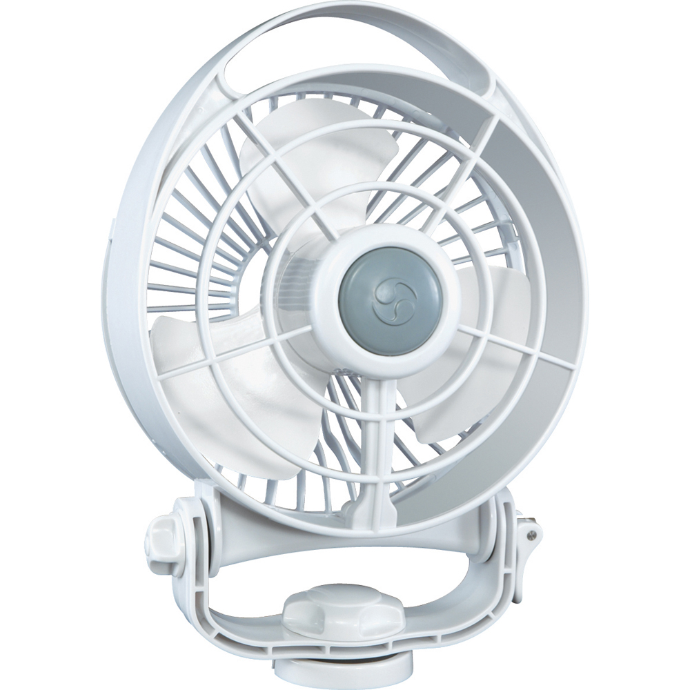 "CAFRAMO BORA 24V 3-SPEED 6"" MARINE FAN WHITE"
