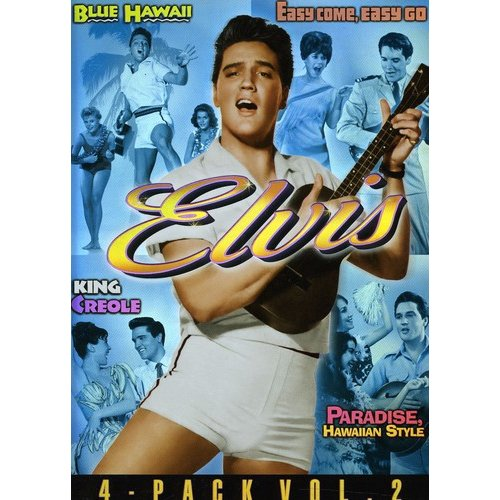 Elvis: 4 Movie Collection, Volume 2 - Blue Hawaii / Easy Come, Easy Go / King Creole / Paradise, Hawaiian Style (Widescreen)