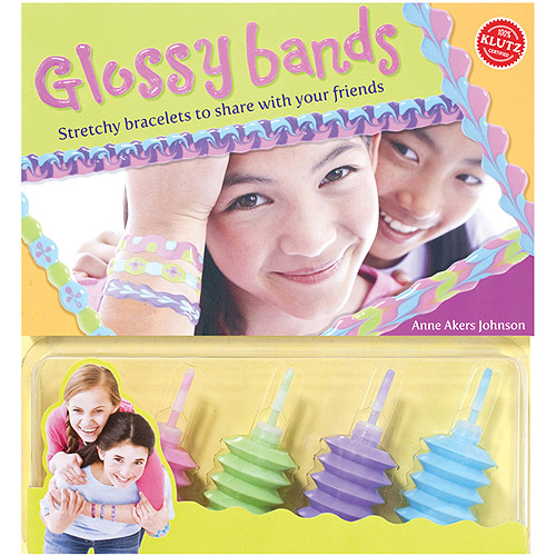 Klutz Glossy Bands Kit