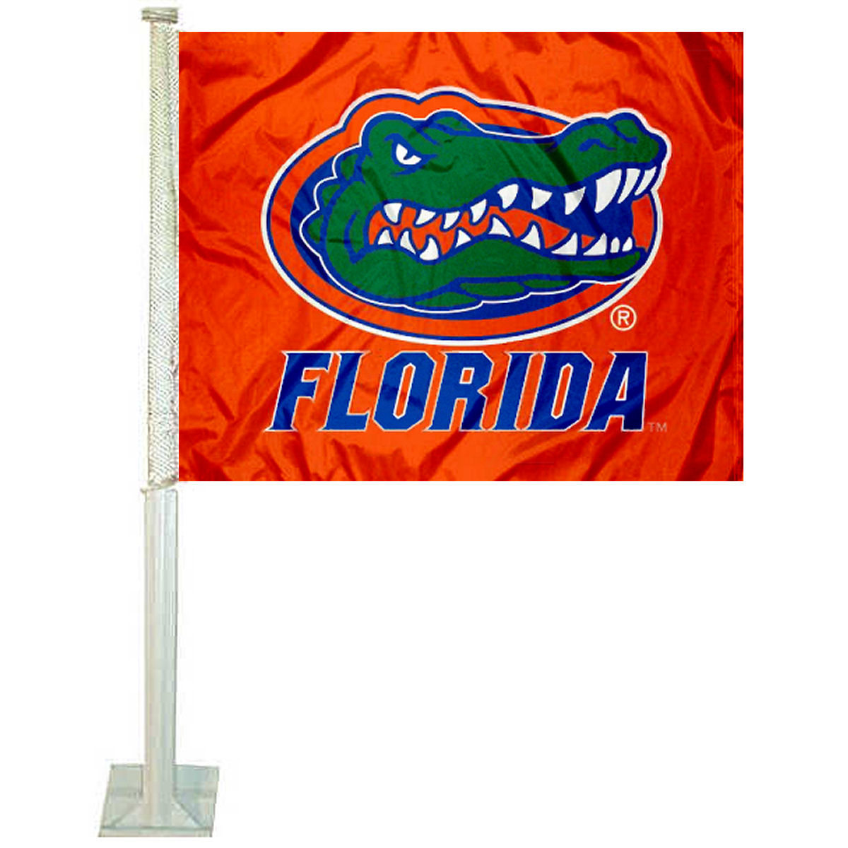 "University of Florida Orange 12"" x 15"" Car Flag"
