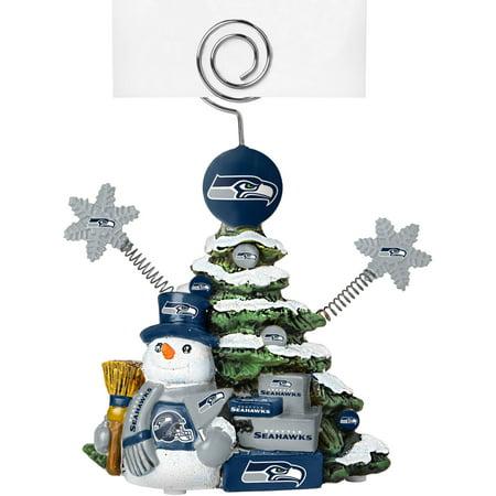 Nfl Holder (Topperscot by Boelter Brands NFL Tree Photo Holder, Seattle Seahawks)