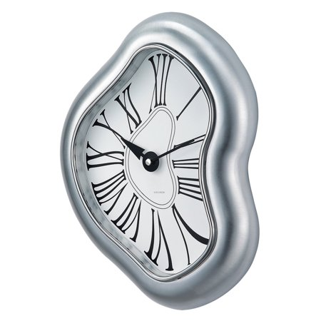 George Nelson Melted Metal Wall Clock - 11 in. Wide