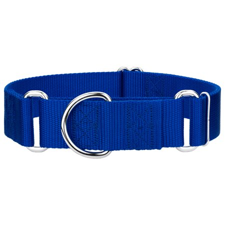Country Brook Design | 1 1/2 Inch Martingale Heavyduty Nylon Dog Collar